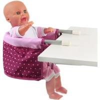 Bayer Chic 2000 Puppen-Tischsitz Dots Brombeere,