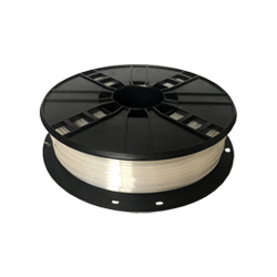 WhiteBOX 3D-Filament Seiden-PLA weiss mit Perlglanz 1.75mm 500g Spule
