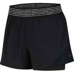 Nike Pro Flex 2-in-1 Woven - Trainingshose kurz - Damen Black