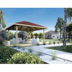 weka Pavillon Paradies 3, BxT: 433x433 cm