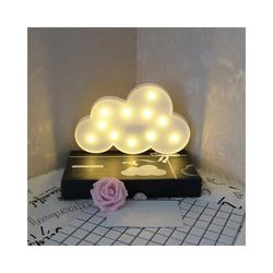 Gotui Dekolicht, 3D LED Nachtlicht Wolkenförmiges Dekorlicht Lampe