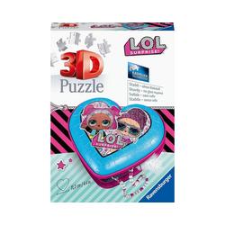 Ravensburger 3D-Puzzle LOL Surprise! 3D-Puzzle Herz, 54 Teile, Puzzleteile