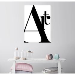 Posterlounge Wandbild, Typografie Art 50 cm x 70 cm