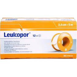 LEUKOPOR 2,5 cmx5 m 12 St.