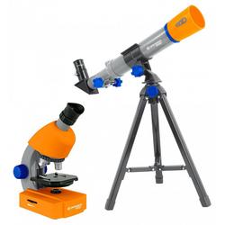 BRESSER junior Teleskop Junior Mikroskop & Teleskop Set