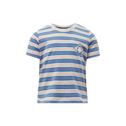 TOM TAILOR Baby Gestreiftes T-Shirt, blau, gestreift, Gr.74