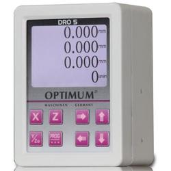Optimum DRO 5 - Digitale 3-Achsen Positionsanzeige für Optimum Bohr-Fräsmaschinen, Drehmaschinen