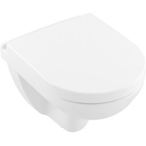 Villeroy & Boch O.novo WC-Sitz mit Absenkautomatik und Quick Release - Weiß Alpin - 9M38S101
