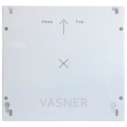 Vasner Infrarotheizung Zipris GR 700, 700 W, Glas