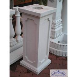 BAD-6512 Sockel Basissockel Pfeiler Zaunpfeiler Säule und Sockel für Gartenfigur 100cm