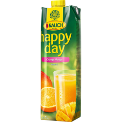 Rauch Happy Day Orange Mangosaft samtig fruchtig imTetrapak 1000ml