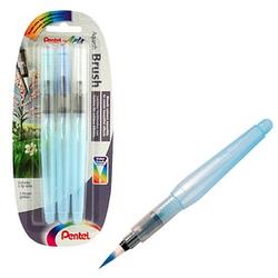 Pentel Aquash Brush Pinsel-Set 3-teilig