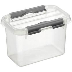 sunware Q-line Aufbewahrungsbox 0,8 l transparent 15,0 x 10,0 x 10,3 cm