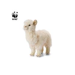 WWF Plüschfigur Plüschtier Alpaka (31cm, wei)