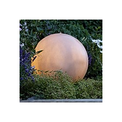 LED-Outdoor-Brunnen Moon Weiß Ø 30 cm
