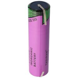 Tadiran Lithium Battery SL-790/T mit Lötfahnen U-Form, SL-2790/T