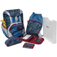 Sammies by Samsonite Ergofit 7-tlg. Spiderman Camouflage