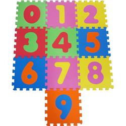 Knorrtoys® Puzzle Zahlen, 10 Puzzleteile, Puzzlematte, Bodenpuzzle