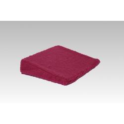 Licardo Keilkissen Keilkissen Therapiekeil Wolle 40 x 40 x8/1 cm rot