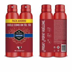 CAPTAIN DEO spray set 2 x 150 ml