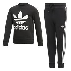 Adidas Jogginganzug, Gr. 122, Baumwolle - Kinder Jogginganzug