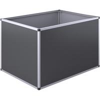 KGT Aluminium-Hochbeet 121 x 91 x 77 cm schwarz