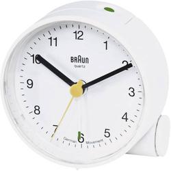 Braun 66004 Quarz Wecker Weiß Alarmzeiten 1