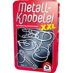Metall Knobelei XXL Mitbringspiel in der Metalldose