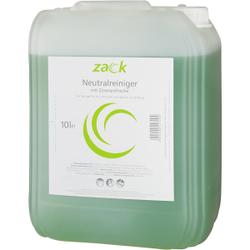 ZACK Neutralreiniger mit Zitronenfrische, Ein wirksamer Reiniger für die universelle und tägliche Anwendung, 10 l - Kanister