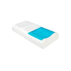 Kopfkissen, BeauErgo GK, Beautissu, ergonomisches Memory Foam Kissen 35x55 cm
