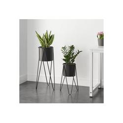 en.casa Blumenständer (2 Stück), Blumentopfständer Hedera im 2er Set