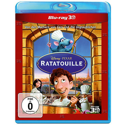 BLU-RAY Ratatouille - 3D Superset (3D BD + 2D BD) Hörbuch