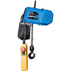 GÜDE Kettenzug GEKZ 300, für Lasten bis 300 kg, elektrisch blau