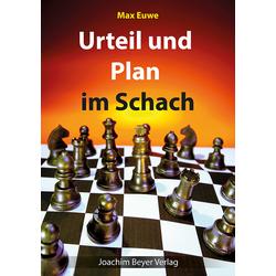 Urteil und Plan im Schach als Buch von Max Euwe