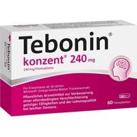 Dr Willmar Schwabe GmbH & Co KG Tebonin konzent 240 mg Filmtabletten 60 St.