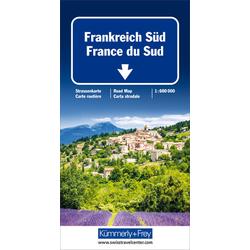 KuF Frankreich Süd 1 : 600 000