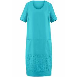 Abendkleid Kleid mit 1/2-Arm Anna Aura türkis