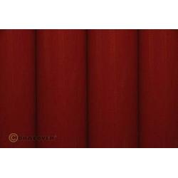 Oracover 21-020-010 Bügelfolie (L x B) 10m x 60cm Rot