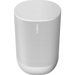 Sonos Move Mono Smart Speaker (Bluetooth, WLAN (WiFi), 40 W) weiß