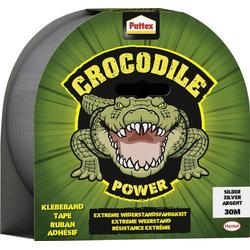 Pattex Crocodile Power PCPT6 Klebeband Silber (L x B) 30m x 48mm 30m
