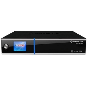 GigaBlue UE UHD 4K 2x DVB-S2 FBC / 1x DVB-C/T2 Tuner E2 Linux Receiver 500GB HDD Kabel-Receiver