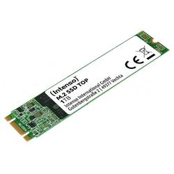 Intenso TOP Performance interne SSD, 1TB m.2 SATA III Steckkarte 520MB/s interne SSD (1 TB)