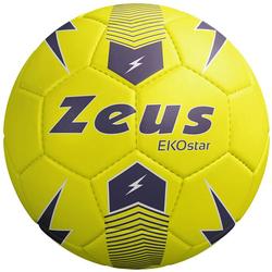 Zeus Ekostar Piłka do piłki nożnej neonowy żółty - Rozmiar: 5