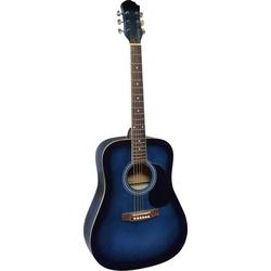 MSA Musikinstrumente CW 185 Westerngitarre 4/4 Blau