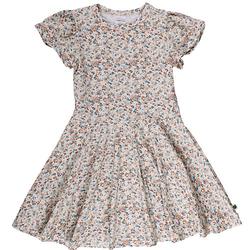 Kleid Kleider  creme Gr. 128 Mädchen Kinder
