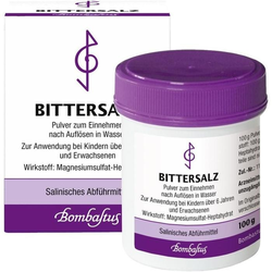 Bittersalz (Magnesiumsulfat)
