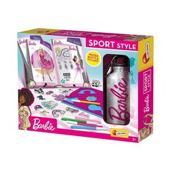 Lisciani Malvorlage Barbie Sport Style - Papierkleider und Malset mit