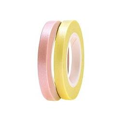 Tapes Schmal, Gelb/Rosa FSC Mix