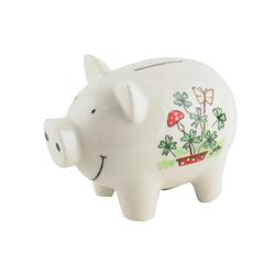 Mila Spardose Mila Keramik-Spardose Glücks-Schwein, MI-93196