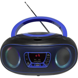 Denver TCL-212BT CD-Radio UKW AUX, CD, USB, Bluetooth® Stimmungslicht Blau